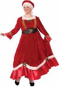 plus size women s red velvet classic mrs claus costume