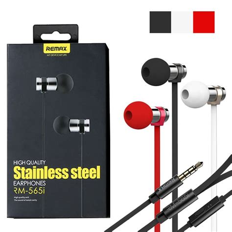 Remax Earphone Rm 535i remax rm 565i stainless steel earphone price bangladesh
