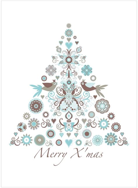 as art up weihnachtskarte tanne christmas card tree