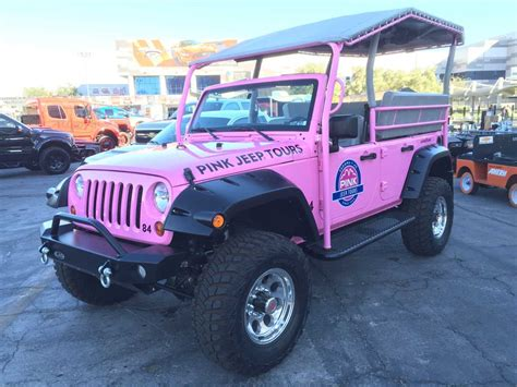 pink jeep pink jeep tours wrangler quadratec