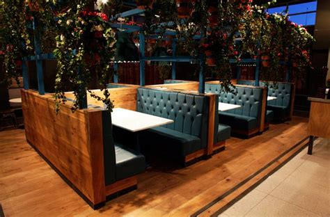 booth design bar fixed seating booths at baffito s in warrington seating