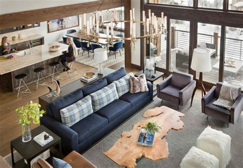 ideas sobre decoracion de salones rusticos modernos