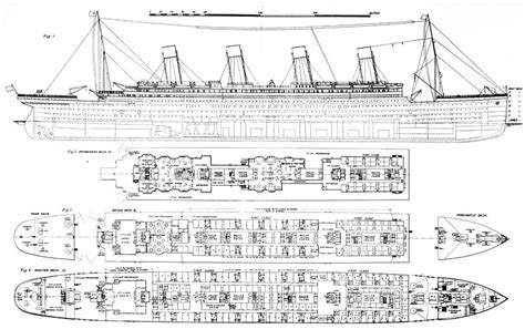 Floor Plan Apps For Ipad by Inquiry Into The Loss Of The Titanic Cross Sections Of The