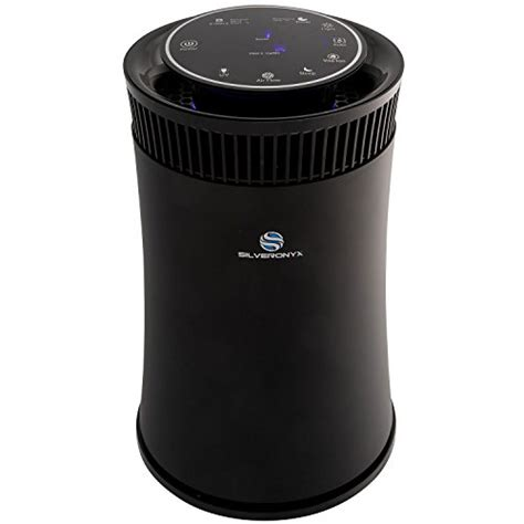 SilverOnyx 4 in 1 Air Purifier with True HEPA Carbon Filter, UV Light, Ionizer   Best Home Air