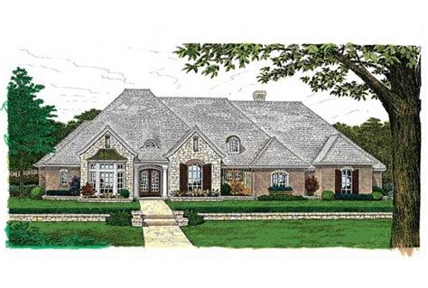 Eplans French Country House Plan Sprawling One Story Charmer 3504 Square Feet And