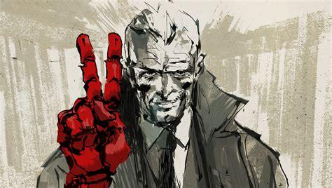 Press Big V For Victory by Metal Gear Solid Custommadedigitalart