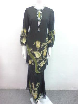 Kain Batik Rangrang Biru Set Bo136 boutique chantique spa q corak batik