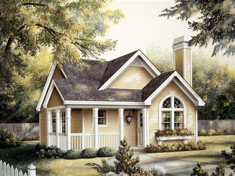 single story tiny homes one story small cottage house plans