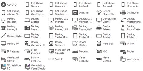 visio mobile phone shape updated free visio stencils for office 365 exchange lync