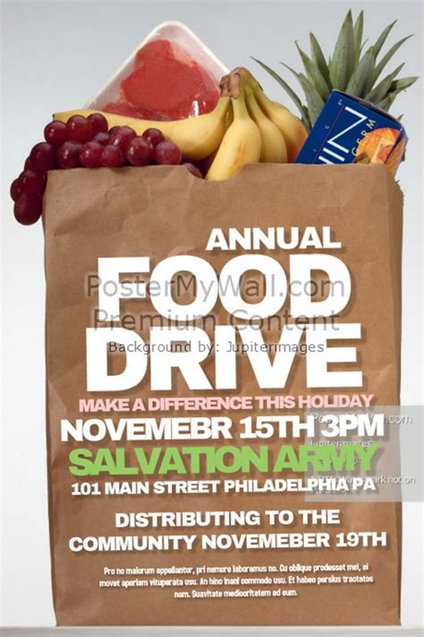 25 Food Drive Flyer Designs Psd Vector Eps Jpg Download Freecreatives Food Drive Flyer Template