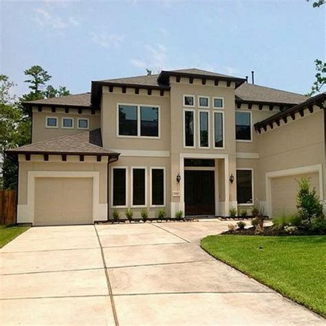 stucco contemporary home outside window details search house exterior details