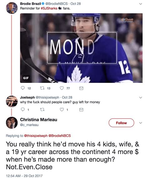 Kfed Thinks Hes Worth More Than 25 Million by Marleau S Shuts Bitter Sharks Fan Angry That He
