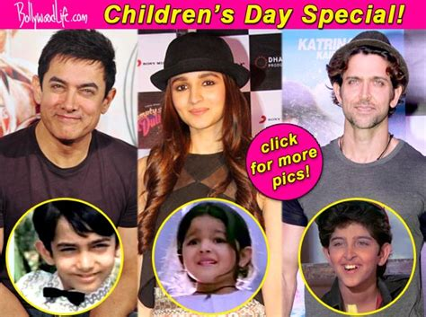 s day actors names children s day special a look at aamir khan hrithik