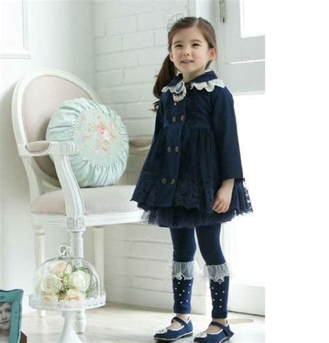 Dress Korea Original Import E2055 baju anak import korea murah