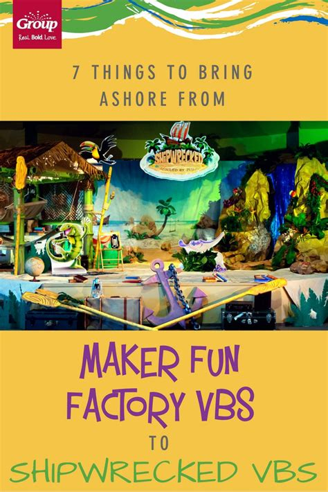 7 Things To Bring Cing by 7 Things To Bring Ashore From Maker Factory Vbs