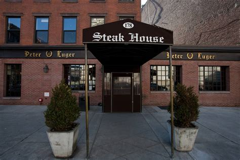 peter luger steak house new york peter luger steak house the official guide to new york city