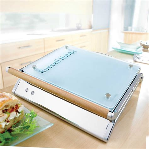 Panini Sandwich Toaster Russel Hobbs Glass Panini Press