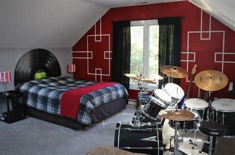 record headboard rock n roll bedroom with beatles lp record headboard