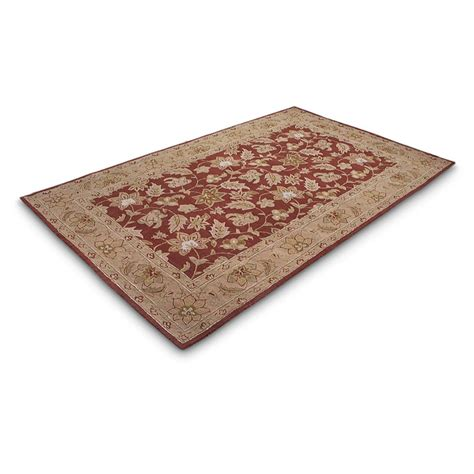 5x8 Area Rugs Clearance Legends 5x8 Wool Area Rug 192886 Rugs At Sportsman S Guide