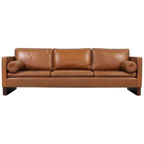 Knoll Leather Sofa Leather Sofa By Mies Der Rohe For Knoll For Sale At 1stdibs