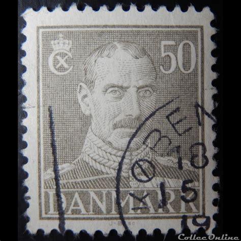 Christian 118 3a danemark 00289 roi christian x de 50ore de 1945 timbres