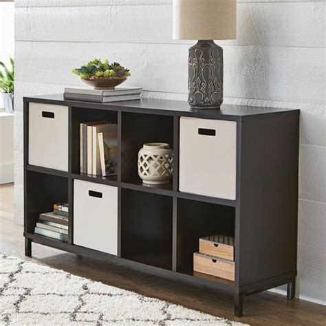 better homes storage cube better homes and gardens 8 cube storage organizer with metal base finishes walmart