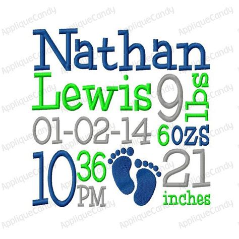 embroidery design birth announcement 1000 images about machine embroidery on pinterest