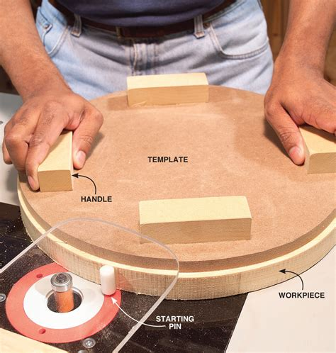 pin router templates template routing tips popular woodworking magazine