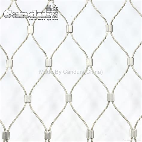 Engsel Panel Ss 50mm 2 0mm cable 50mm mesh ss wire rope mesh ferrule type china