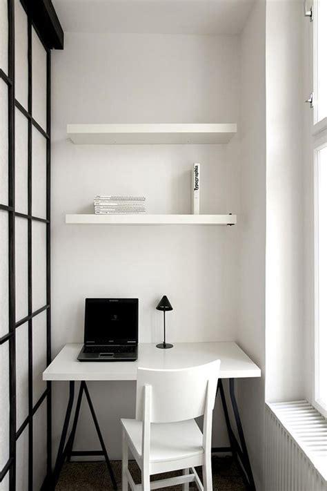 small office ideas with black laptop closed desk l on