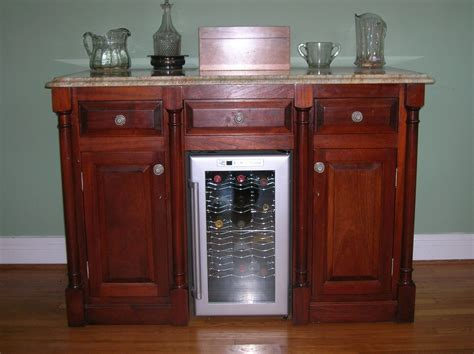 Granite Top Bar Cabinet by Sterling Bar Cabinet With Wine Fridge Ideas Interior