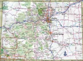 colorado county road map printable highway map colorado roads pictures to pin on