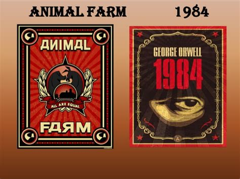 themes in 1984 and animal farm george orwell