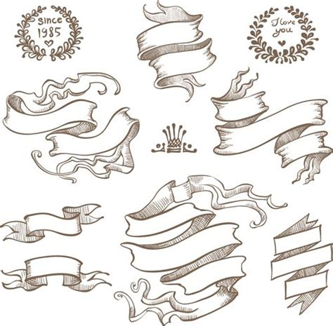 ribbon banner tattoo designs ribbon drawing search plunis incendo
