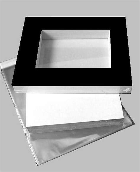 10 X 3 Framing Archival Mat by 11x14 Economy Kit Black Mat For 8x10 Image 7 5 X