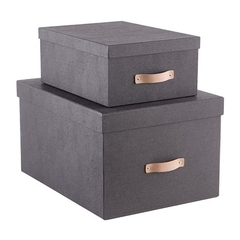 storage box bigso black woodgrain storage boxes the container store