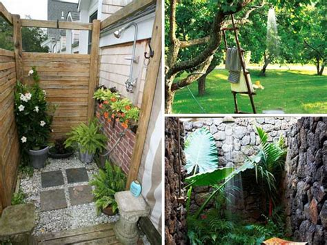 Garden Shower Ideas 30 Cool Outdoor Showers To Spice Up Your Backyard Amazing Diy Interior Home Design