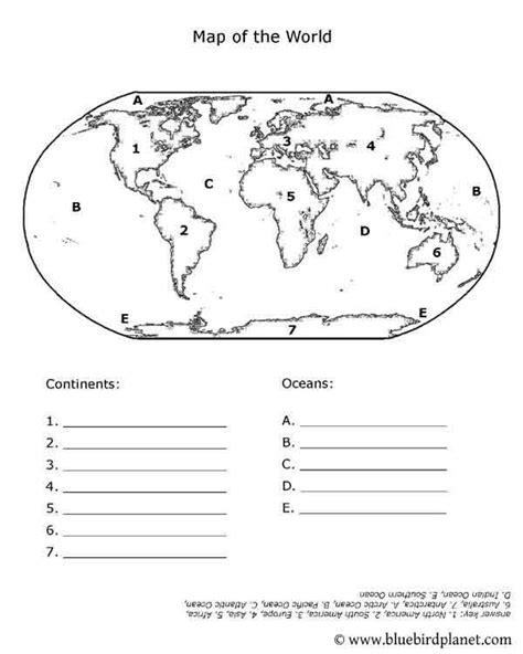 printable world map quiz free printable worksheets for preschool kindergarten 1st