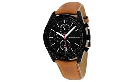 new mens michael kors accelerator brown leather