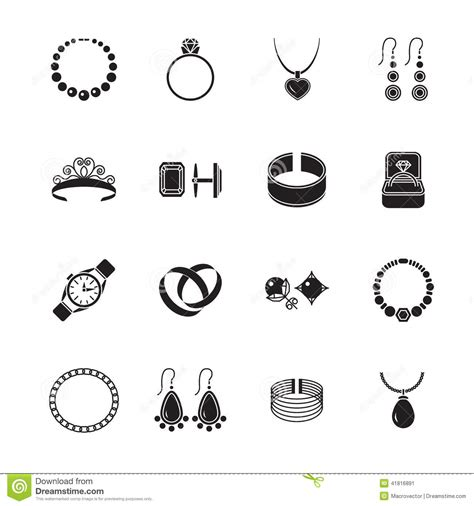 fashion jewelry images illustrations vectors fashion jewelry icon black stock vector illustration of accessory