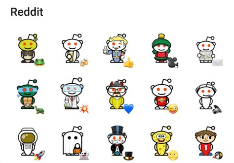Reddit Stickers