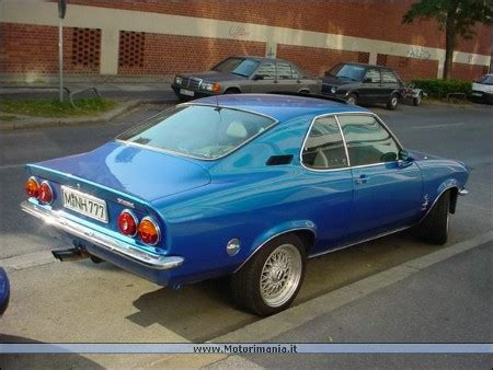 1974 opel manta which old cars do you miss or want
