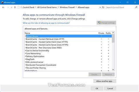 Windows 10 Firewall Tutorial | restore default windows firewall settings in windows 10