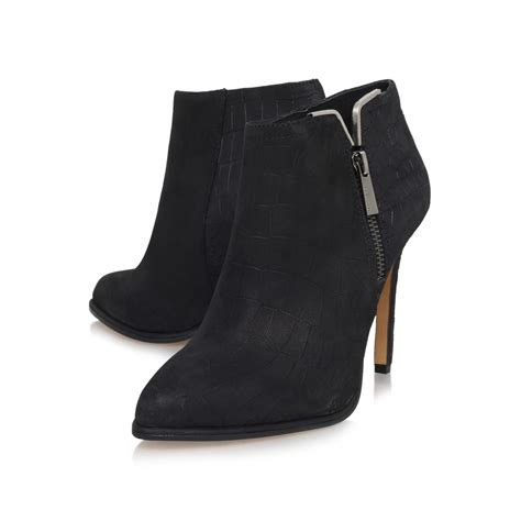 vince camuto shoes vince camuto high heel zip up shoe boots in black