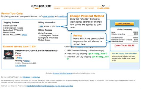 Amazon Payment Method Gift Card - amazon com shop with points