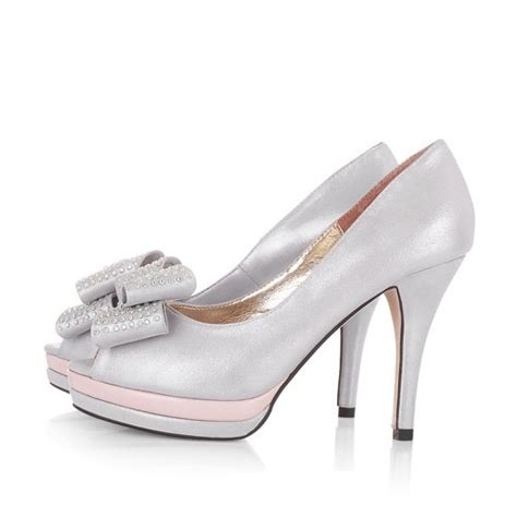 Wedding Shoes In Silver by Silver Wedding Shoes 105100