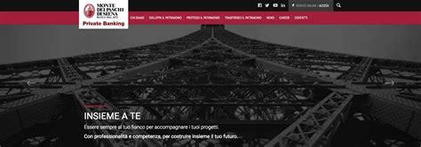 sito monte dei paschi di siena il banking di mps rinnova il suo sito web notizie