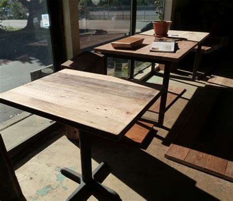 reclaimed wood table tops dining tables restaurant