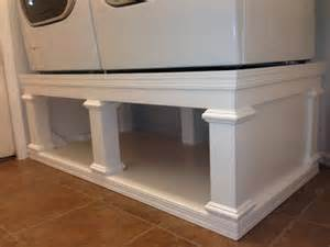 Pedestal For Top Load Washer Ryan S Washer Dryer Pedestal Do It Yourself Home