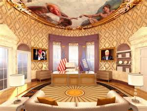 Trump Oval Office Design trump s plans for an oval office makeover white house addition